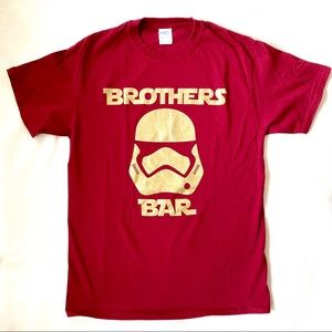 Brother Bar Red T-Shirt Sz Med